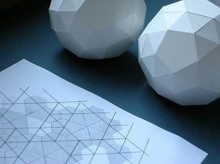 Polyeder-Modelle von Alexander HEINZ