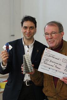 Alexander HEINZ gewinnt den von Friedhelm Kürpig gestiffteten Phänomena-Preis