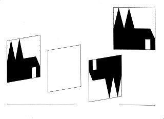 Projektisonsschema in der Camera