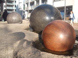 Granitkugeln in Limhamn, Malmö
