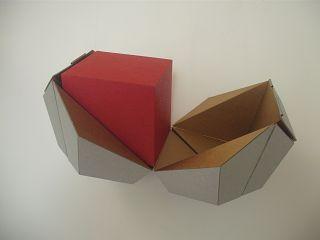 Rhomboeder im Dodekaeder