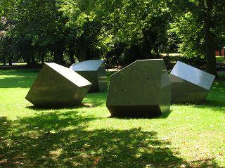 """""""Skulptur für eine Ebene"""" von André VOLTeN"""